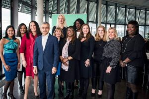 Gender Networks members with Sadiq Khan, Mayor of London