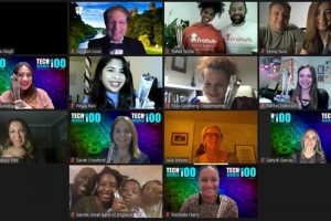 Celebrating our 2020 TechWomen100 Awards virtually