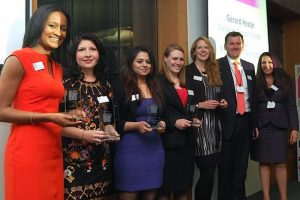 Winners at our first Rising Star Award's Ceremony in 2015