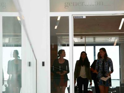 returning to work, corporate woman, Generation Investment Management featured