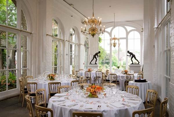 Orangery Gallery In Holland Park Wedding Venue Holland