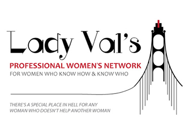 Lady Val's Professional Network Logo