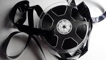 broken film reel