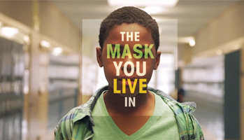 the mask you live in video thumbnail