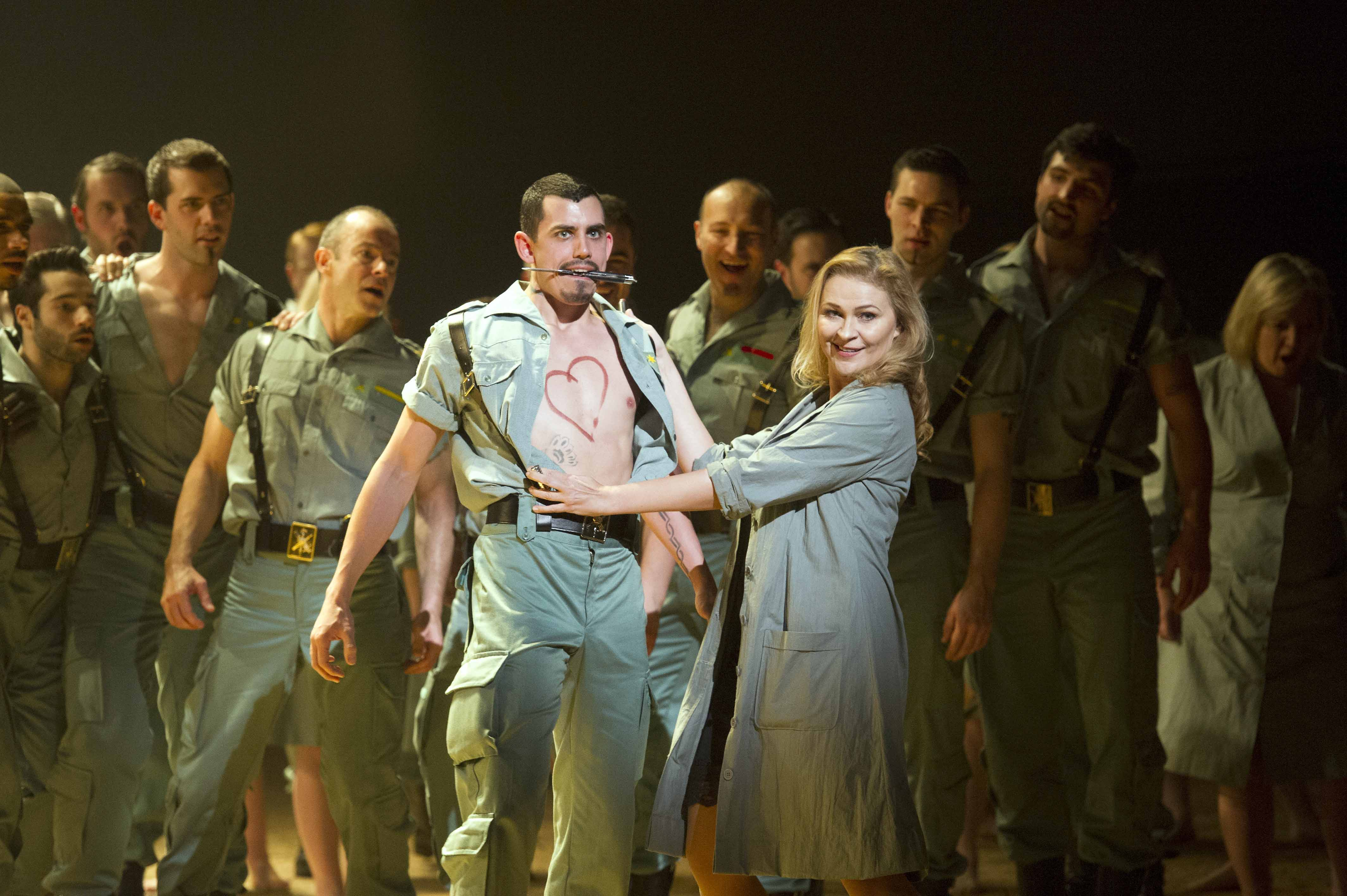 Carmen performed by English National Opera at The London Coliseum