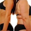 women in underwear size comparison