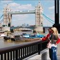 Young couple - Tower Bridge London