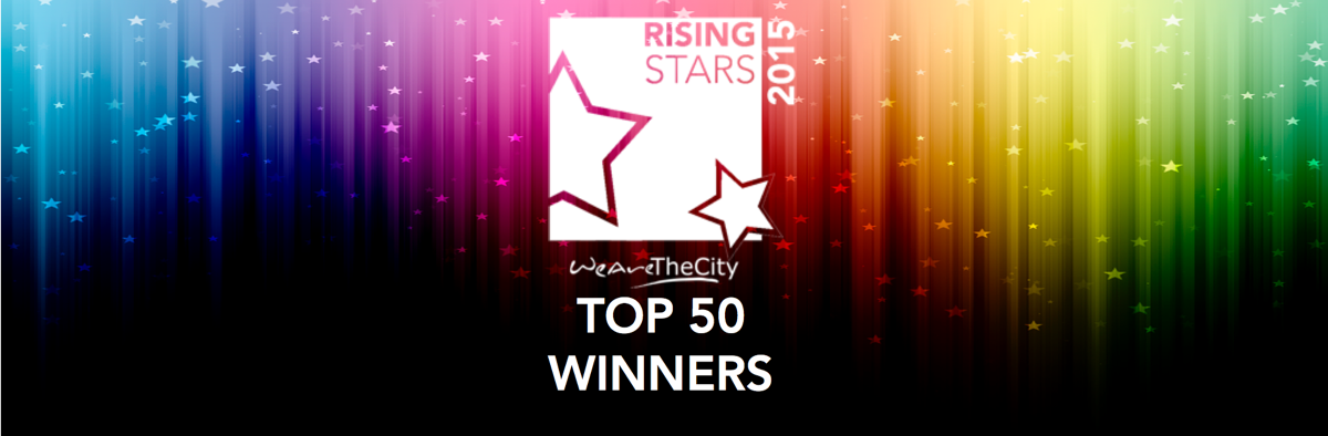 Rising Stars Top 50 winners- banners