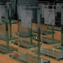 Rising Star Award trophies