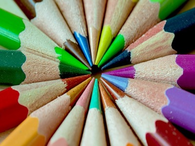 crayons colours featured