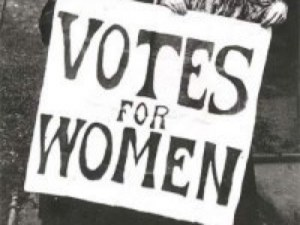 votes for women featured