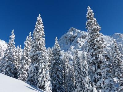 snowy mounatain featured