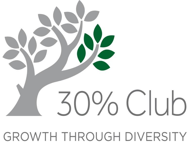 30% club logo featured