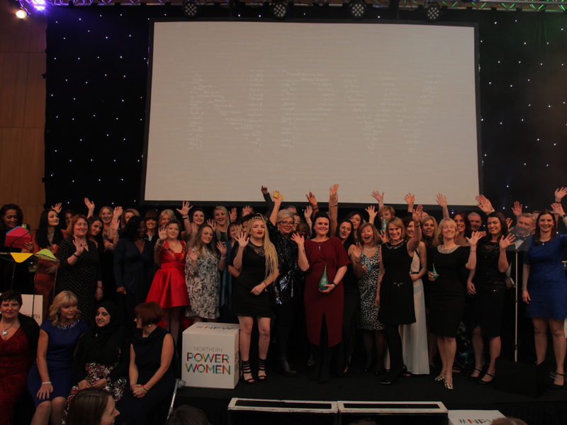 Northern Power Women awards full stage of winners featured