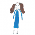 PageGroup Drawing of female nurse featured