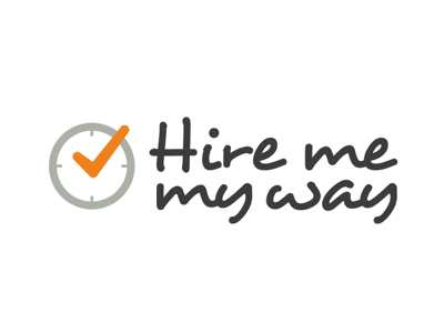 Hire me my way logo