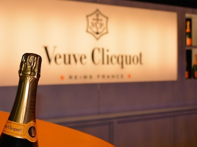 veuve clicquot awards, champagne bottle featured
