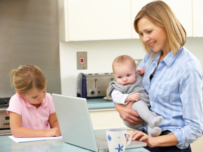 Five top tips for returning to work after having a baby