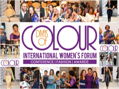 Divas of colour logo