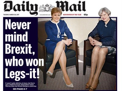 daily mail headline featured