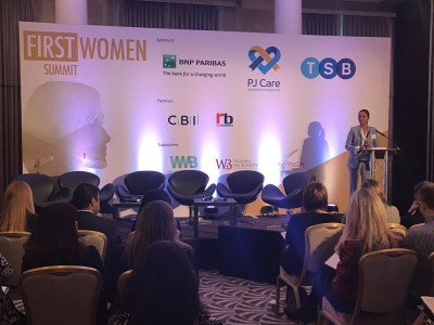 gina miller, first women summit featured