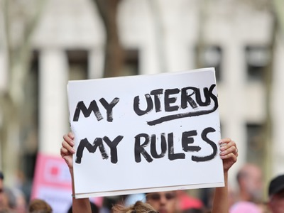 abortion, my uterus my rules poster featured
