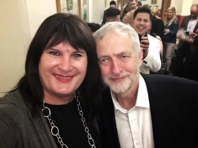 Sophie Cook and Jeremy Corbyn featured