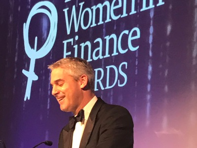 Stephen Barclay, Women in Finance Awards featured