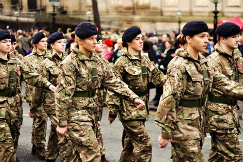 female soldiers, flexible working, veterans