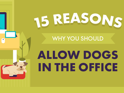 DESIGN -15 Reasons Why You Should Allow Dogs in the Office featured