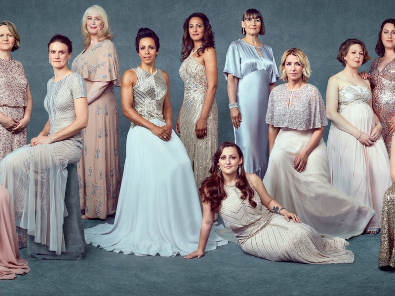 women 100 campaign, armed forces featured