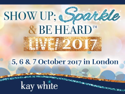 Show Up; Sparkle & Be Heard featured