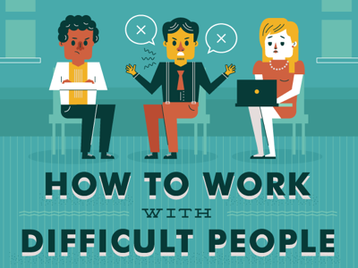 DESIGN - How to Work With Difficult People featured