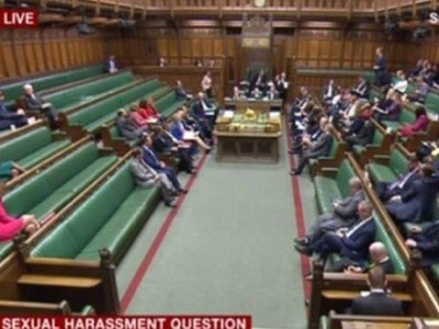 House of Commons sexual harassment debate featured