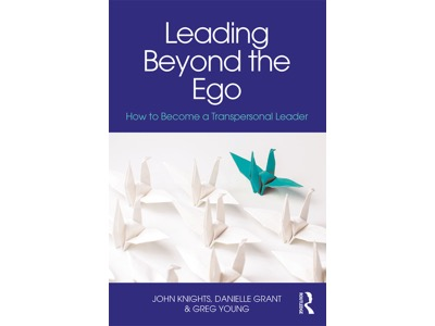 Leading Beyond the Ego book jacket featured