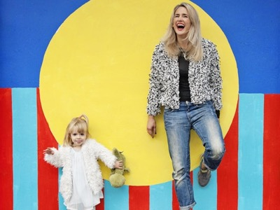 running a brand and being a mum featured