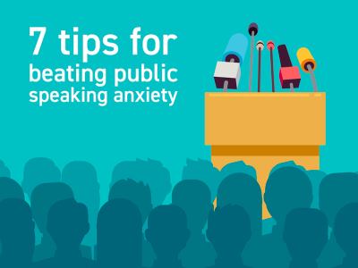 7 tips for beating public speaking anxiety featured
