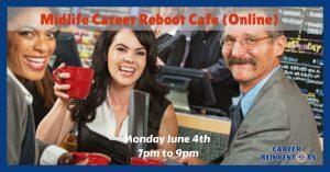 Midlife career reboot cafe