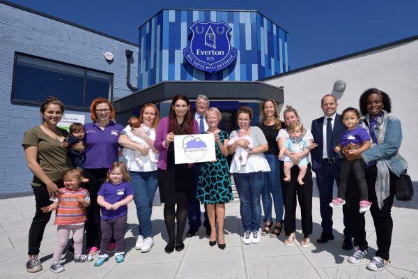 Everton Football Club breastfeeding featured