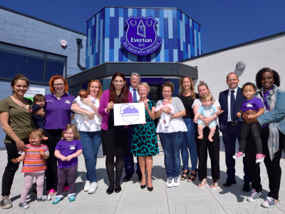 Everton Football Club breastfeeding featured