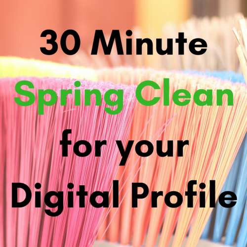 Digital spring clean