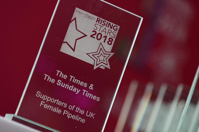 Images from the WATC Rising Stars Awards at News UK 12 July 2018