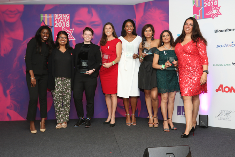 Images from the WATC Rising Stars Awards at News UK 12 July 2018