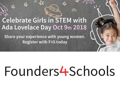 Founders 4 School Ada Lovelace Day featured