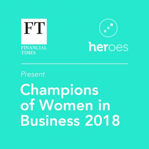 HERoes Champion of women in business