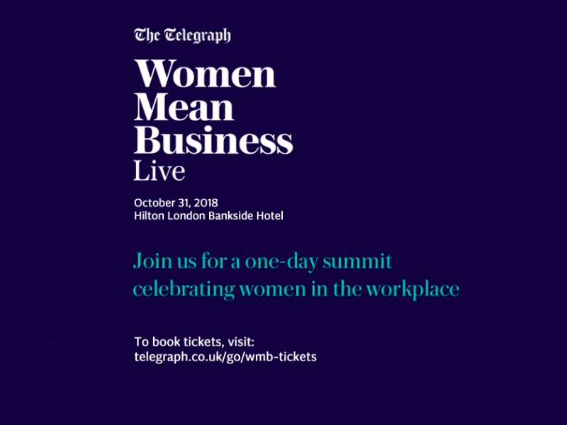 The Telegraph Women in Business featured