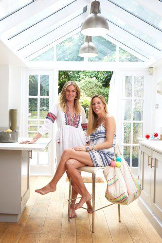 EmilyCohen & Sabrina Naggar wearing Sunuva