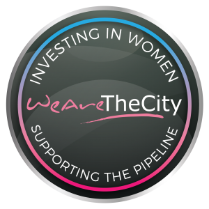 Investing in women badge