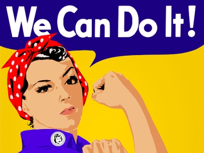 rosie the rivetter, girl power featured