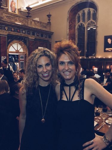 Pamela Walker and Elena Mariotti